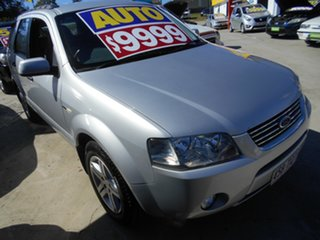 2006 Ford Territory SY Ghia AWD Silver 6 Speed Sports Automatic Wagon.