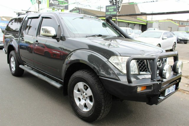 Used Nissan Navara D40 ST-X West Footscray, 2009 Nissan Navara D40 ST-X Grey 5 Speed Automatic Utility