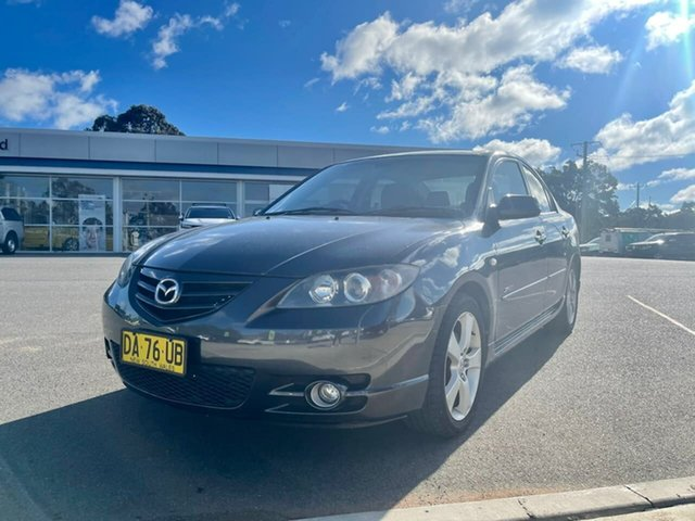 Used Mazda 3 BK SP23 Goulburn, 2005 Mazda 3 BK SP23 Grey 5 Speed Manual Sedan