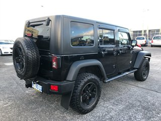 2008 Jeep Wrangler JK Unlimited Sport Black 5 Speed Automatic Softtop.