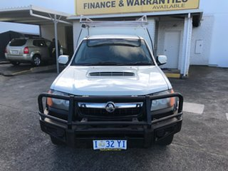2010 Holden Colorado RC MY10 DX White 5 Speed Manual Cab Chassis