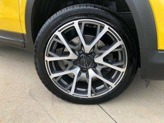 2015 Fiat 500X Cross Plus Yellow 9 Speed Automatic Wagon.