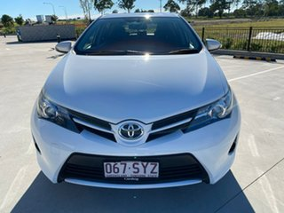 2013 Toyota Corolla ZRE182R Ascent S-CVT White 7 Speed Constant Variable Hatchback