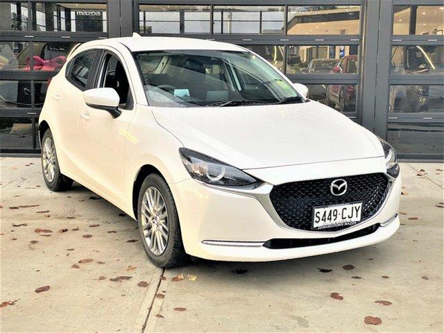 Demo Mazda 2 DJ2HAA G15 SKYACTIV-Drive Evolve Edwardstown, 2021 Mazda 2 G15 SKYACTIV-Drive Evolve Hatchback