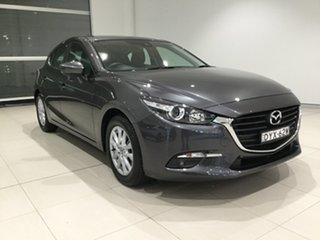 2018 Mazda 3 BN5478 Maxx SKYACTIV-Drive Sport Machine Grey/bn 6 Speed Sports Automatic Hatchback.