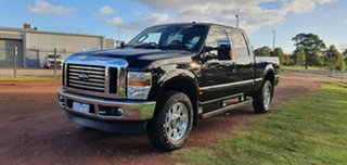 2010 Ford F350 (No Series) Lariat Black Automatic Utility