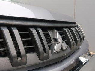 2016 Mitsubishi Triton MQ MY16 GLX Double Cab Grey 6 Speed Manual Utility