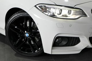 2015 BMW 2 Series F22 220i M Sport White 8 Speed Sports Automatic Coupe.