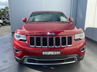 2014 Jeep Grand Cherokee WK MY2014 Limited Red 8 Speed Sports Automatic Wagon.