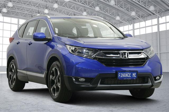 Used Honda CR-V RW MY18 VTi-L FWD Victoria Park, 2018 Honda CR-V RW MY18 VTi-L FWD Blue 1 Speed Constant Variable Wagon