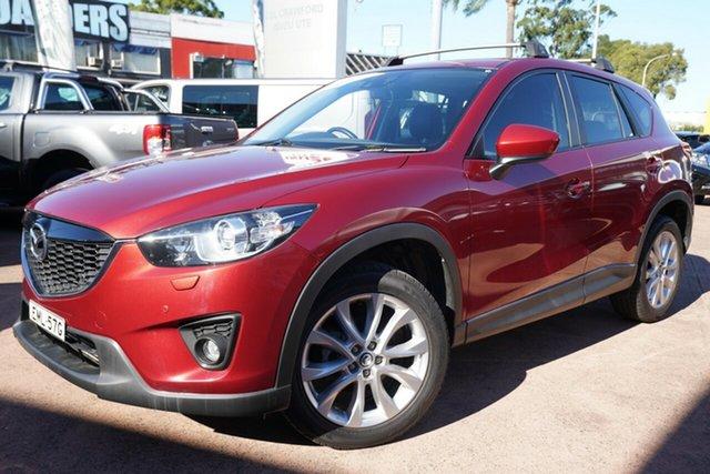 Used Mazda CX-5 MY13 Upgrade Akera (4x4) Brookvale, 2014 Mazda CX-5 MY13 Upgrade Akera (4x4) Red 6 Speed Automatic Wagon