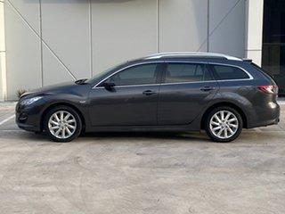2012 Mazda 6 GH1052 MY12 Touring Grey 5 Speed Sports Automatic Wagon.