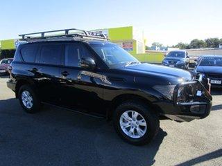 2013 Nissan Patrol Ti-L (4x4)Y62 Black Wagon.