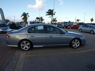 2008 Ford Falcon BF Mk II XR6 Grey 4 Speed Sports Automatic Sedan.