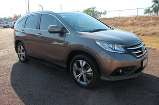 2013 Honda CR-V RM MY14 VTi-L 4WD Grey 5 Speed Sports Automatic Wagon.