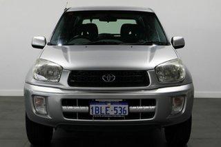 2003 Toyota RAV4 ACA21R Extreme Silver 5 Speed Manual Wagon.