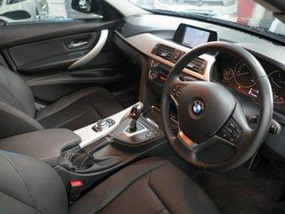 2013 BMW 3 Series F30 MY0813 318d Black 8 Speed Automatic Sedan