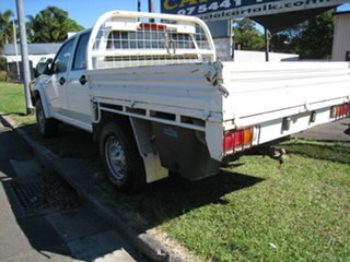 2008 Holden Colorado RC LX (4x4) White 5 Speed Manual Crew Cab Chassis