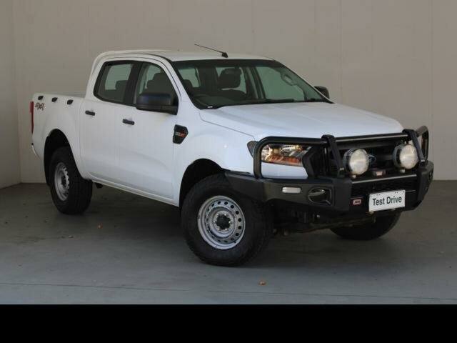 Used Ford Ranger PX MkII XL 3.2 (4x4) Fyshwick, 2016 Ford Ranger PX MkII XL 3.2 (4x4) White 6 Speed Automatic Crew Cab Utility