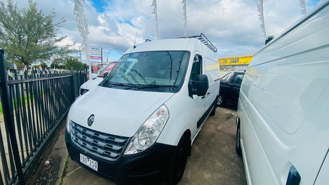 Used Renault Master X62 Mid Roof MWB AMT Maidstone, 2014 Renault Master X62 Mid Roof MWB AMT White 6 Speed Sports Automatic Single Clutch Van