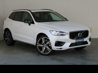 2019 Volvo XC60 246 MY19 T6 R-Design (AWD) Crystal White 8 Speed Automatic Geartronic Wagon.