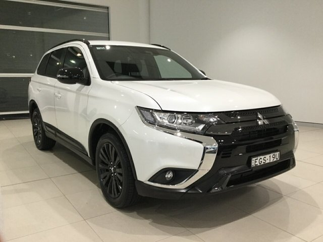 Used Mitsubishi Outlander ZL MY20 Black Edition 2WD Alexandria, 2019 Mitsubishi Outlander ZL MY20 Black Edition 2WD White 6 Speed Constant Variable Wagon
