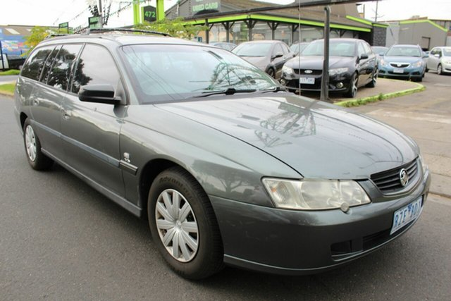 Used Holden Commodore VY II Executive West Footscray, 2003 Holden Commodore VY II Executive Grey 4 Speed Automatic Wagon
