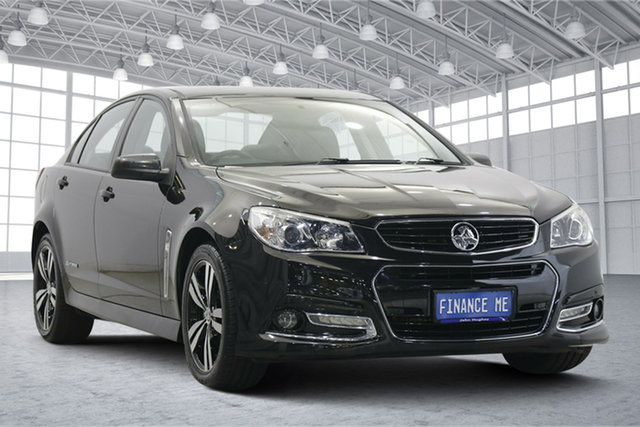 Used Holden Commodore VF MY15 SS Storm Victoria Park, 2015 Holden Commodore VF MY15 SS Storm Black 6 Speed Sports Automatic Sedan