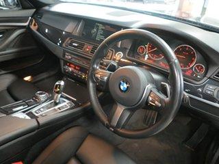 2014 BMW 5 Series F10 LCI 520d Steptronic M Sport Grey 8 Speed Sports Automatic Sedan