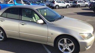2005 Lexus IS GXE10R MY04.5 IS200 Sports Gold 4 Speed Automatic Sedan