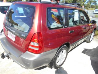2003 Subaru Forester 79V MY03 XS AWD Red 5 Speed Manual Wagon
