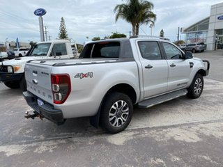 2017 Ford Ranger PX MkII 2018.00MY Wildtrak Double Cab Silver 6 Speed Sports Automatic Utility
