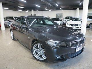 2014 BMW 5 Series F10 LCI 520d Steptronic M Sport Grey 8 Speed Sports Automatic Sedan.