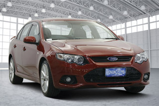 2013 Ford Falcon FG MkII XR6 EcoLPi Emperor Red 6 Speed Sports Automatic Sedan.