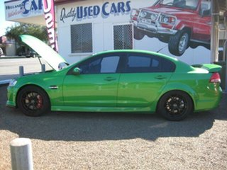 2007 Holden Commodore Green Automatic.
