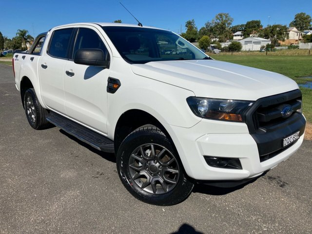 Used Ford Ranger PX MkII XL Hi-Rider South Grafton, 2016 Ford Ranger PX MkII XL Hi-Rider White 6 Speed Manual Utility