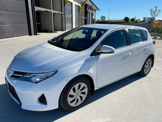 2013 Toyota Corolla ZRE182R Ascent S-CVT White 7 Speed Constant Variable Hatchback.