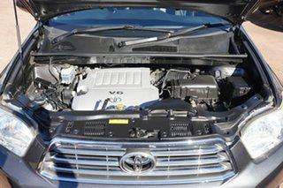 2009 Toyota Kluger GSU45R Grande (4x4) Grey 5 Speed Automatic Wagon