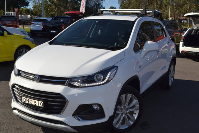 Used Holden Trax TJ MY17 LT Maitland, 2017 Holden Trax TJ MY17 LT Summit White 6 Speed Automatic Wagon