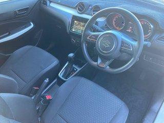 2019 Suzuki Swift AZ GL Navigator White (zvr) 1 Speed Constant Variable Hatchback.