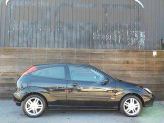 2003 Ford Focus LR MY2003 Zetec Black 4 Speed Automatic Hatchback.