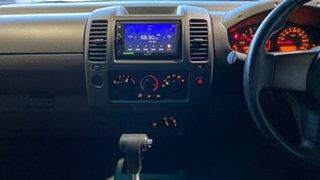 2009 Nissan Navara D40 ST-X Silver 5 Speed Automatic Utility