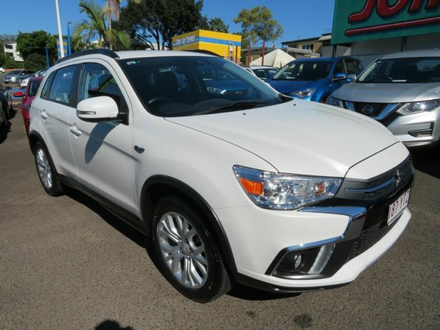 Used Mitsubishi ASX XC MY19 ES 2WD ADAS Mount Gravatt, 2019 Mitsubishi ASX XC MY19 ES 2WD ADAS White 1 Speed Constant Variable Wagon