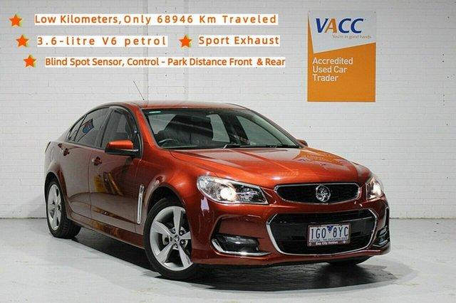 Used Holden Commodore VF II MY16 SV6 Moorabbin, 2015 Holden Commodore VF II MY16 SV6 Red 6 Speed Sports Automatic Sedan