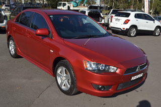 2008 Mitsubishi Lancer CJ MY09 VR Red 6 Speed Constant Variable Sedan