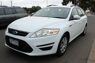 2012 Ford Mondeo MC LX White 6 Speed Sports Automatic Wagon.