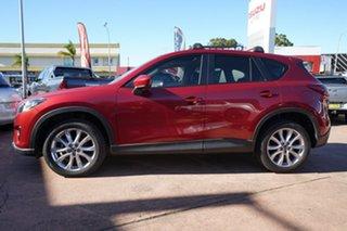 2014 Mazda CX-5 MY13 Upgrade Akera (4x4) Red 6 Speed Automatic Wagon.