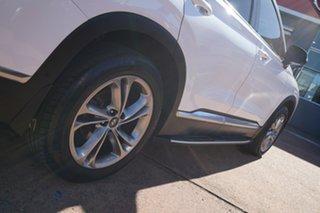 2018 Hyundai Santa Fe TM Highlander CRDi Dark Burg AWD White 8 Speed Automatic Wagon