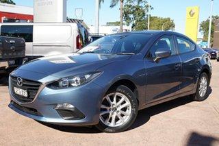 2016 Mazda 3 BM MY15 Neo Blue 6 Speed Automatic Sedan.