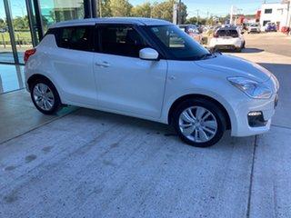 2019 Suzuki Swift AZ GL Navigator White (zvr) 1 Speed Constant Variable Hatchback